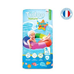 Couche de Piscine Écologique Taille 5 12-18kg 1×11 Tidoo