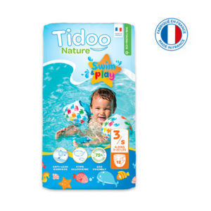 Couche de Piscine Écologique Taille 3 4-9kg 1×12 Tidoo
