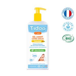 Gel Lavant Ultra-Doux Au Calendula Bio 475 ml Tidoo