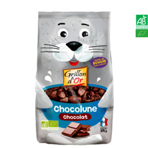 Chocolune Chocolat Bio 375gr Grillon d'Or
