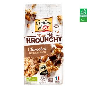 Krounchy Chocolat Avoine Sans Gluten 500gr Grillon d'Or