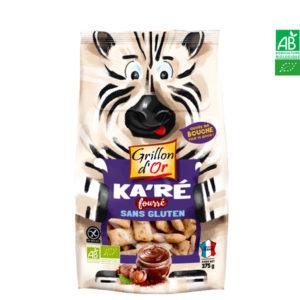 Ka'Ré Fourré Noisette et Cacao Sans Gluten 375gr Grillon d'Or