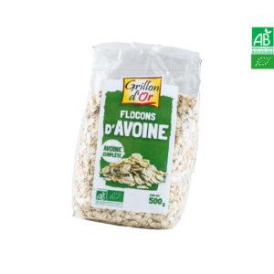 Flocons d'Avoine Complète 500gr Grillon d'Or