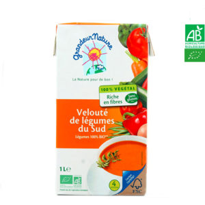 Velouté de Légumes du Sud Bio 1L Grandeur Nature
