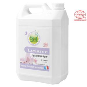 Lessive Hypoallergénique liquide 5L Bulle Verte