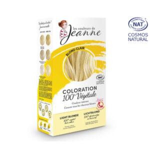Coloration 100% Bio & Végétale Blond Clair Les Couleurs de Jeanne