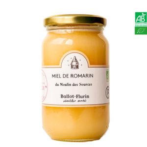 Miel de Romarin du Moulin des Sources 480g Ballot-Flurin