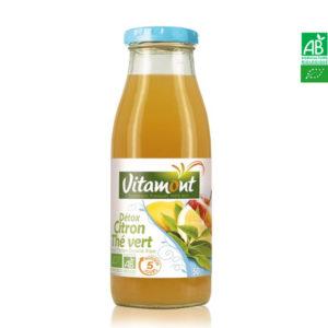Jus détox Citron Thé Vert Bio 50cl Vitamont