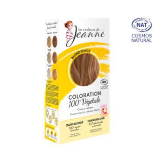 Coloration 100% Bio & Végétale Blond Foncé Les Couleurs de Jeanne