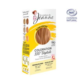Coloration 100% Bio & Végétale Blond Vénitien Les Couleurs de Jeanne