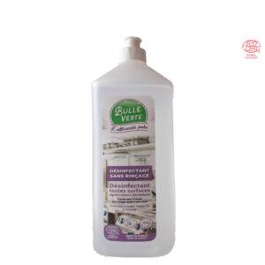 Biocide Désinfectant Sans Rinçage 1Lt Bulle Verte