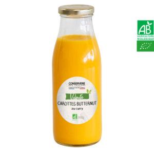 Velouté de Carottes, Butternut au Curry 960g Conserverie des Saveurs