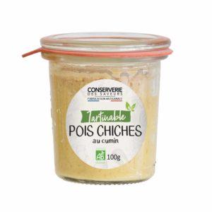 Houmous de Pois Chiches au Cumin 100g Conserverie des Saveurs