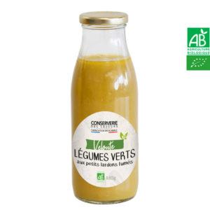 Velouté de Légumes Vert aux Lardons Fumés 480g Conserverie des Saveurs