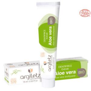 Dentifrice Aloe-Vera 75ml Argiletz