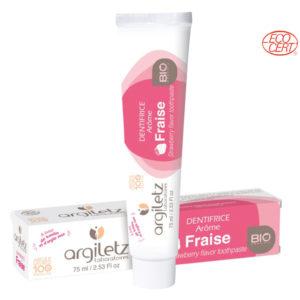 Dentifrice Fraise 75ml Argiletz