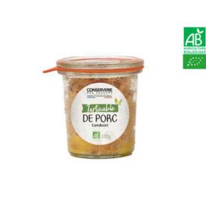 Tartinable de Porc Tandoori 100g Conserverie des Saveurs
