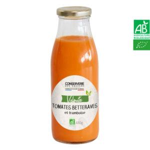 Velouté de Tomate, Betteraves et Framboise 480g Conserverie des Saveurs
