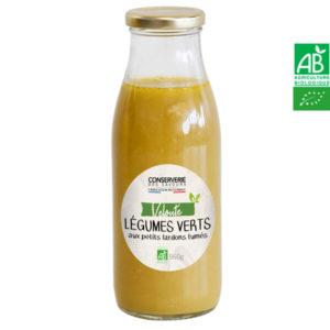 Velouté de Légumes Vert aux Lardons Fumés 960g Conserverie des Saveurs