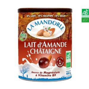Lait d'Amande Châtaigne Fleur de Châtaigne 400gr La Mandorle