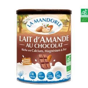 Lait d'Amande au Chocolat 400gr La Mandorle