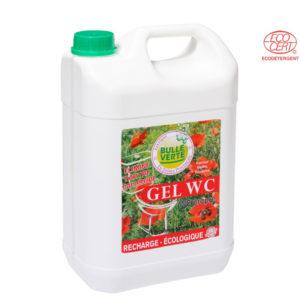 Nettoyant Gel Wc Naturel 5L Bulle Verte