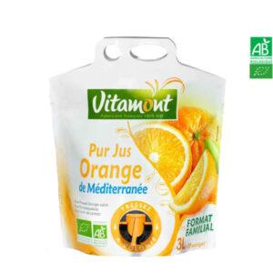 Jus d'Orange Poche Souple 3 Lt Vitamont