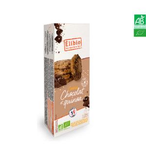 Cookies Chocolat et Quinoa 175gr Elibio