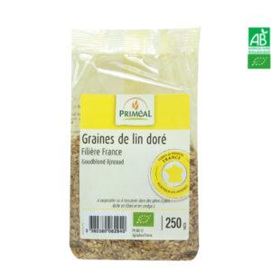 Graines de Lin Doré Bio France 250g Priméal