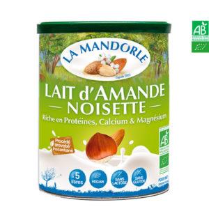 Lait d'Amande Noisette 400gr La Mandorle