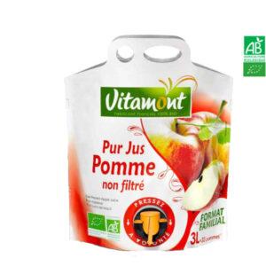 Jus de Pomme Poche Souple 3 Lt Vitamont