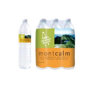 Eau Minérale Naturelle Montcalm 1.5Lt par 6