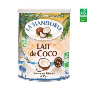 Lait de Coco 400gr La Mandorle