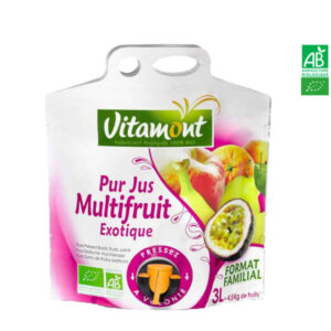 Jus Multifruit Exotique Pochette Souple 3 Lt Vitamont