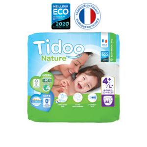 Couche Écologique Taille 4 9 à 20 kg 1x23 Tidoo