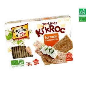Tartines Ki'Kroc au Sarrasin 150gr Grillon d'Or