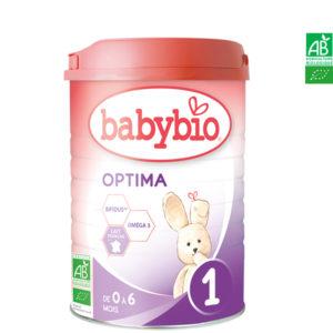 Lait 1er Âge Optima 1 900g Babybio