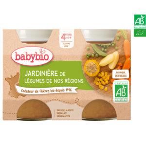 Jardinière de Légumes de France 2x130g Babybio