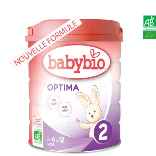 Lait Optima 2.800g Babybio