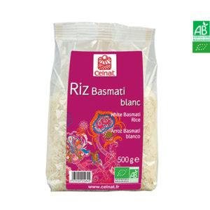 Riz Basmati Blanc Bio 500gr Celnat