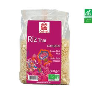 Riz Long Thai Bio Complet 500gr Celnat