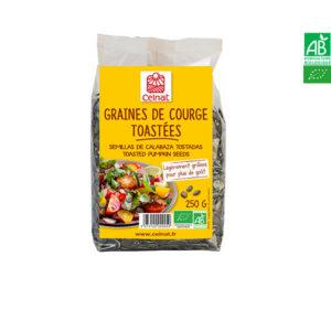 Graines de Gourges Toastées 250gr Celnat
