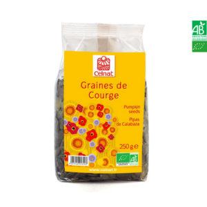 Graines de Courge Bio 250gr Celnat