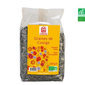 Graines de Courge Bio 500gr Celnat
