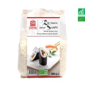 Riz Blanc Bio Pour Shuhi 500gr Celnat