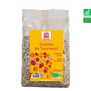 Graines de Tournesol Bio 250gr Celnat