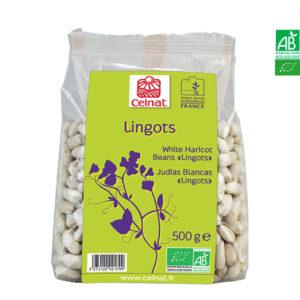 Haricots Blancs Bio Lingots de Vendée 500gr Celnat