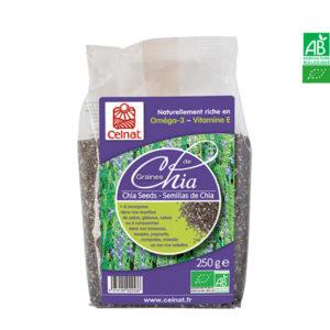 Graines de Chia Bio 400gr Celnat