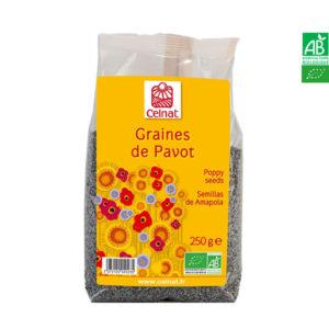 Graines de Pavot Bio 250gr Celnat