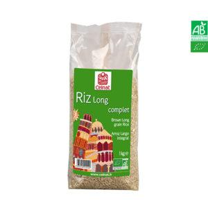 Riz Long Complet Bio 1kg Celnat